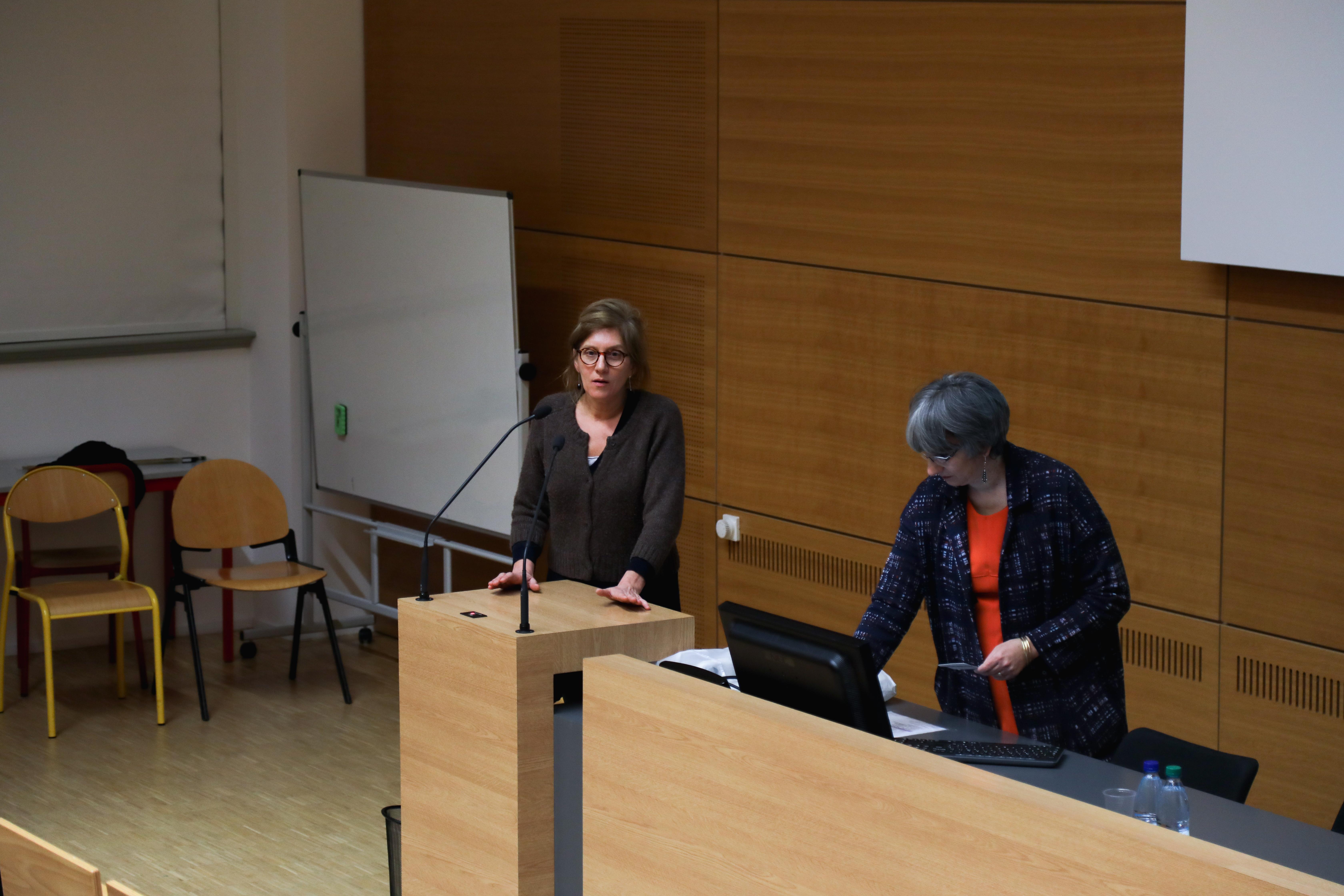 Anne-Sophie Korganow et Agnès Bloch-Zupan
